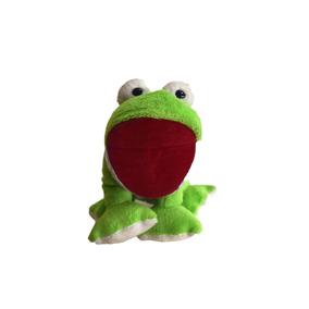 Brinquedo Sapinho Sapo De Pelúcia Boneco Marionete Infantil