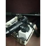 Nikon D7000 Lente 18 135mm + 50mm + Monopie + Bolso