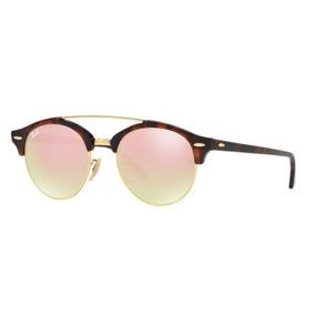 Oculos Sol Ray Ban Rb4346 990 7o 51 Rosa Degradê Espelhada baf8b81d4c
