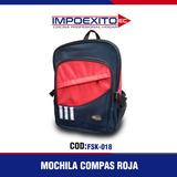 Mochila Compas Roja Impoexito