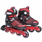Patins In-line Rollers Top Premium Vermelho/preto 39 A 43