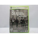 The Beatles Rock Band - Xbox 360 ¡fisico-usado!