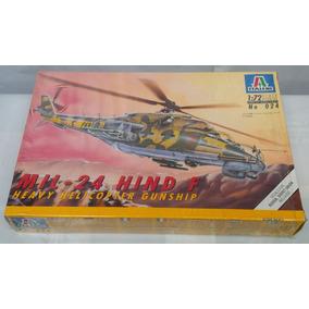 Mil-24 Hind F (kit Helicoptero Plástico), 1/72. Italeri.!
