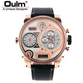 0d7375b8347 Relogio Oulm 9316 Masculino - Relógios De Pulso no Mercado Livre Brasil