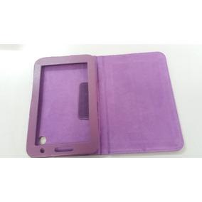 Capa Case Tablet Couro Lilás 10,5 X 17,0 Cm Lelong