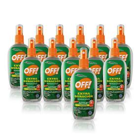Off! Repelente Extra Duración Spray 200ml 12 Unidades