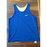 c6a8383aae Camiseta Regata Nike Basquete Dupla Face Azul amarelo - G