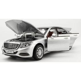 Miniatura Carro Mercedes Benz Maybach S600 Gt V12 - Luxo