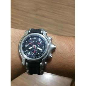 Relogio Oakley Holeshot Fundo Preto Masculino - Relógios De Pulso no ... 6b2f8bef44