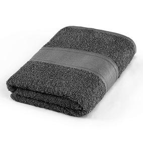 Toalla Premium Baño Negra 100% Algodón