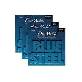 Leve 03 Blue Steel - Dean Markley Strings - Frete Grátis