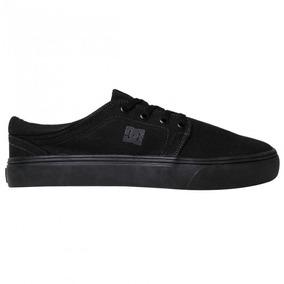 Tênis Dc Shoes Trase Tx Black/black/black