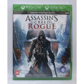 Assassins Creed Rogue Xbox 360 E Xbox One Novo Mídia Fisica