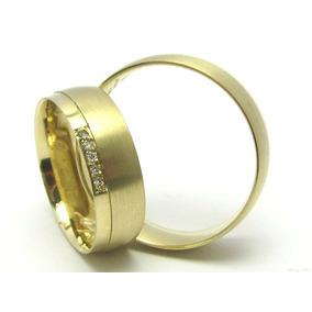 Par De Aliancas Ouro 18k750 - Aliança de Ouro no Mercado Livre Brasil 4585776437