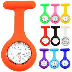 Relógio Lapela Silicone Enfermeiras Cores Seleção