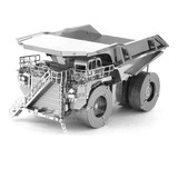 Rompecabezas 3d Metalico Camion Armable Nivel Profesional
