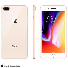 Iphone 8 Plus Dourado Tela De 5,5 4g 64gb 12mp - Mq8n2bz/a
