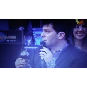 Mate Y Bombilla Plata De Television Canal 13