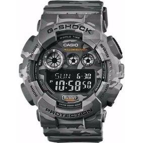 Relógio Casio Masculino G-shock Camuflado Gd-120cm 8dr