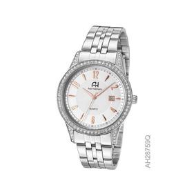 Relógio De Pulso Ana Hickmann Feminino Aço Ah28759q