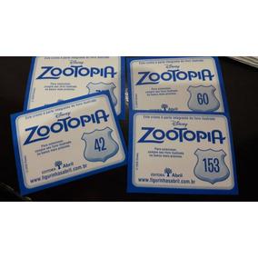 Lote 10 Figurinhas Avulsas Zootopia