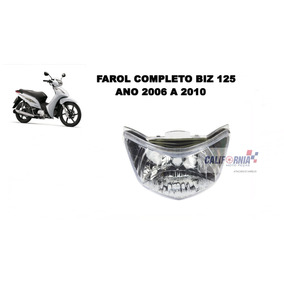 Bloco Óptico Farol Honda Biz 125 Ano 2006 À 2010 Sem Lampada