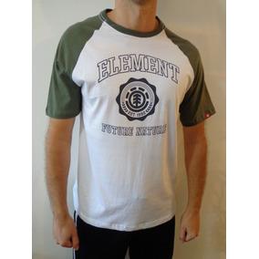 Camiseta Element - Camisetas Manga Curta Masculino no Mercado Livre ... f33c17e5035