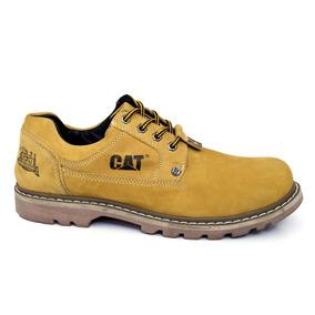 Sapato Sapatênis Bota Caterpillar Masculina Tênis De Couro