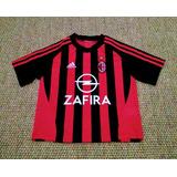 5a60e18c19 Camisa Milan 2003 04 - Camisas de Futebol no Mercado Livre Brasil