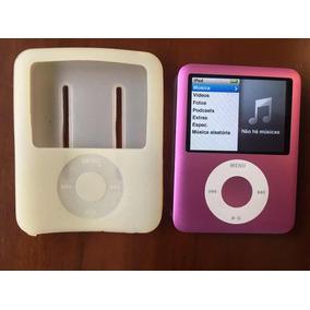 Ipod Nano De 8 Gigas Rosa + Caixa De Som Bluetooth!