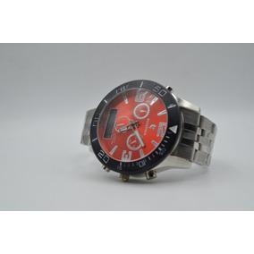 4ffb785d72b Relogio Potenzia Fundo Laranja Lancamento - Relógios De Pulso no ...