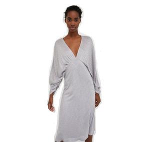 d283e4a7b6 Vestido Zara - Vestidos de Mujer Plateado en Mercado Libre Argentina