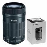 Lente Canon 55-250 Mm Efs