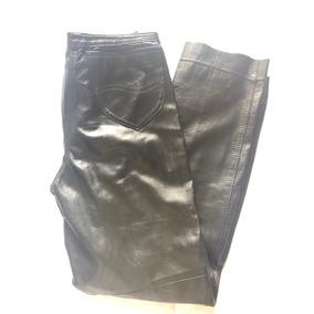 5db2842713d3 Pantalones Efecto Cuero - Pantalones y Jeans para Mujer, Usado al ...