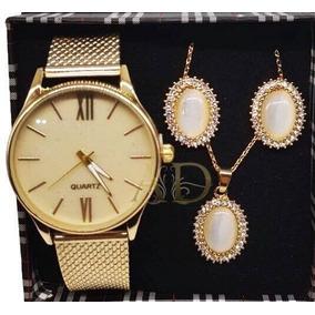 ee9b366a4a4 Relogio Feminino Caixa Grande - Relógio Feminino no Mercado Livre Brasil