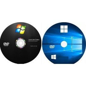 Cd Do Windows 7 E 10 + Drivers + Pacote Office 16