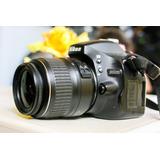 Camara Reflex Nikon D5100 Fullhd Pantalla Abatible