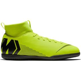 56e8209030 Chuteira Feminina Futsal - Chuteiras Futsal Nike Verde limão no ...