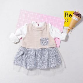 Vestido Para Niñas Bebé Niña Tutú Chaleco Incluido