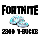 2800 Pavos Para Fortnite V-bucks Recarga Online Pc Ps4
