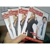 Dvd - Série Chuck - 1° Temporada - Original