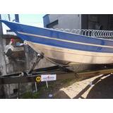Barco 6m + Carreta Nova Sem Motor