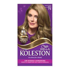 Coloração Creme Koleston Kit Louro Cinza Médio 71