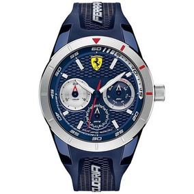 Relógio Scuderia Ferrari Masculino Borracha Azul - 830436