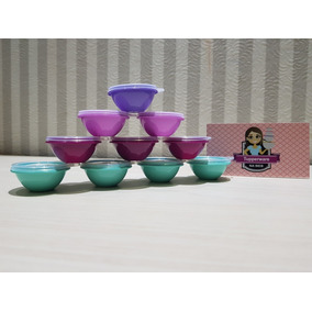 Kit 3 Miniaturas Tigela Maravilhosa Tupperware