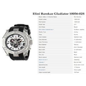 Relógio Importado Original Elini Barokas Gladiator 10056-02s