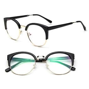 Armação Óculos Grau Retrô Simples Feminino Fashion 2019 A26. 3 cores. R  39  99 4da3edcf9f