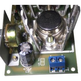 Kit Montar Fonte Ajustável Com Transistor De Potência