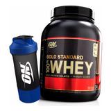 Gold Standard 100% Whey 5lb Optimum Nutrition + Brinde