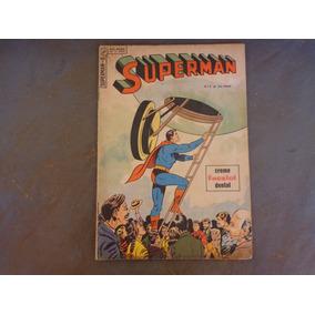 Superman N° 5 Ebal 1964 Original 1 Muito Boa Frete Grátis